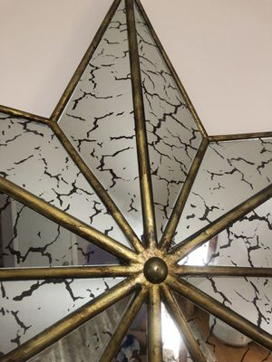 Star Mirror Wall Decor for Sale in Middletown, MD