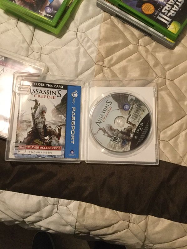 Assassins Creed PS3 video games