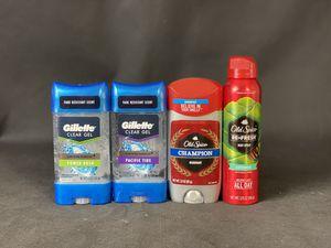 Bundle Gillette Old Spice deodorant, body spray for Sale in Melvindale, MI