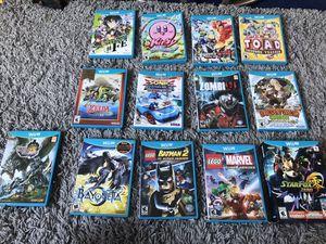 Lot of 14 Nintendo Wii U games includes LEGO marvel, Batman donkey Kong, Kirby, zelda, Bayonetta and star fox for Sale in Los Angeles, CA