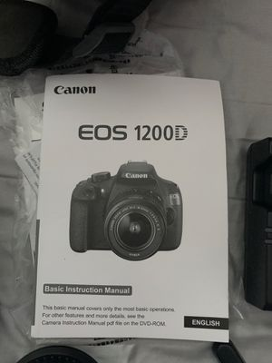 Canon Eos 1200D for Sale in Montpelier, MD