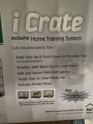 Dog crate for Sale in Grottoes, VA