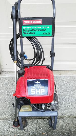 Craftsman pressure washer. for Sale in Issaquah, WA
