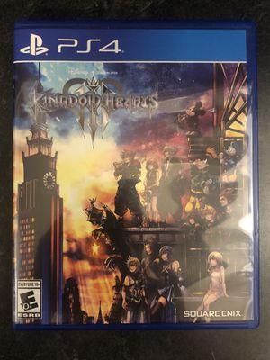KINGDOM HEARTS PS4 for Sale in Las Vegas, NV
