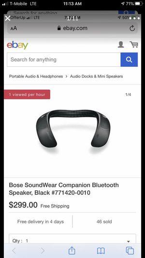 Bose SoundWear for Sale in Kent, WA