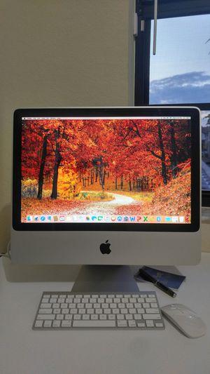 🌇 Apple iMac Computer Desktop (2009) / Core 2 Duo / 4 GB Memory / 160 GB Hard drive / System macOs El Capitan for Sale in Homestead, FL