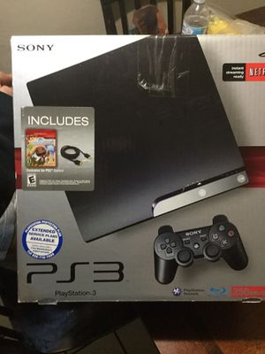 New PS3 250g includes everything for Sale in Carson, CA