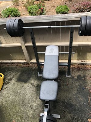 Gold's Gym XR 6.1 Weight Bench for Sale in Pine Lake, GA