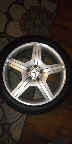 20 inch AMG rims and tires for Sale in North Chesterfield, VA