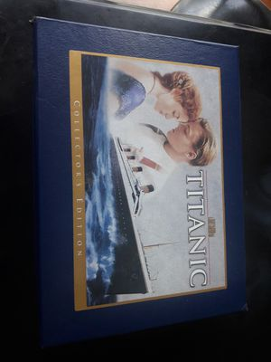 Titanic VHS Collector's Edition for Sale in Romeoville, IL