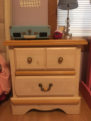 Matching desk & night stand with drawers for Sale in Austin, TX