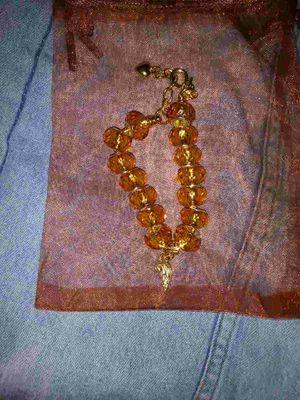 Golden Heart Angel Dangle Charm Bracelet for Sale in Detroit, MI