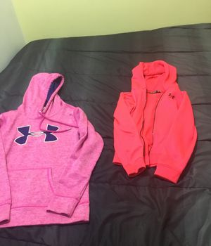 Small hoodie and/ or zip up jacket under armor for Sale in South Jordan, UT