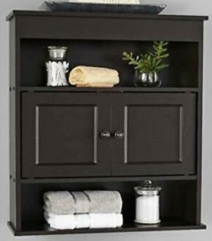 Wall Mount Cabinet Storage Wood Shelf Organizer for Sale in Tucson, AZ