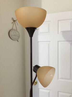 Brown floor lamp for Sale in Laveen Village, AZ