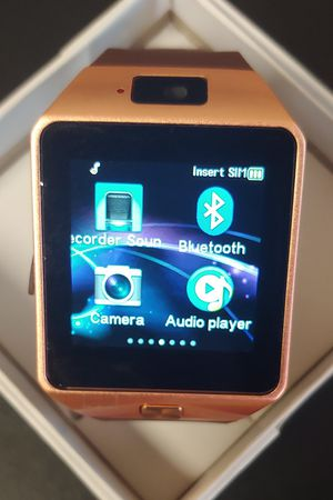 D Series Rose Gold Smart Watch for Sale in Oklahoma City, OK