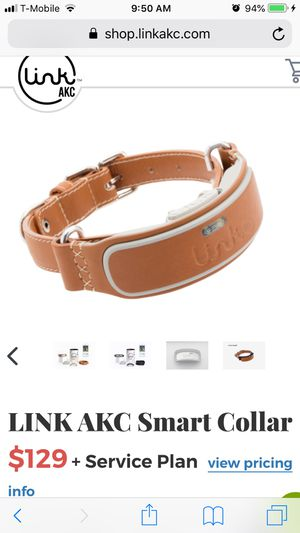 Link AKC smart collar for sale!!! for Sale in Houston, TX
