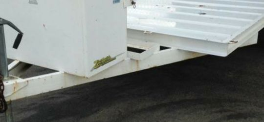 Zieman Trailer 6 By 10 Feet With Loading Ramp And Storage Box And Gas Can Rack for Sale in Huntington Beach,  CA
