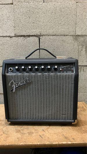 Fender Champion 20 Guitar Amplifier for Sale in Whittier, CA