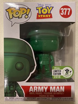 Funko POP Disney! Toy Story Army Man ECCC Exclusive for Sale in Las Vegas, NV