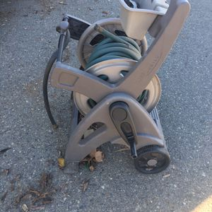 Garden Hose Reel With Hose Free for Sale in Oakdale, CA