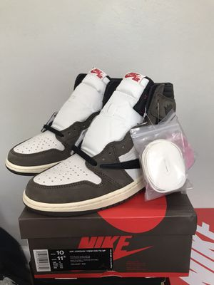 Brand New Size 10 Nike Air Jordan 1 High OG Travis Scott for Sale in Columbus, OH