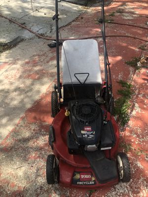 Toro lawn mower very goof condition for Sale in Tampa, FL