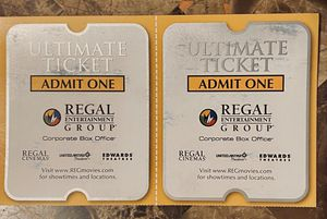 2 Prepaid Movie Tickets to Regal Cinemas. for Sale in Damascus, MD