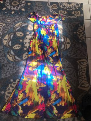 Off the should long dress for Sale in Chino, CA