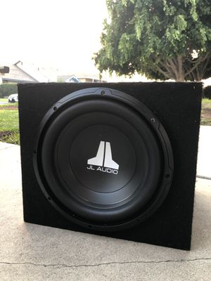 Like new!! 12in Jl Audio Subwoofer 🔊 for Sale in Anaheim, CA