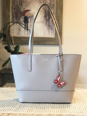 NWT KATE SPADE ADLEY LARGE TOTE SHOULDER BAG TAUPE BEIGE TAN LEATHER LAPTOP $329 for Sale in San Jose, CA