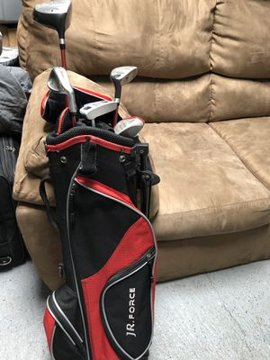 Golf clubs w/case for Sale in Sumner, WA