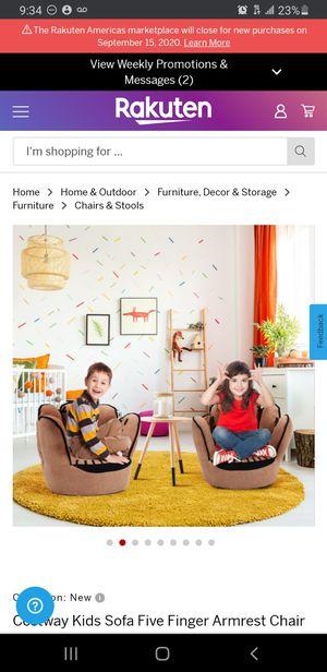 New Kids 5 Finger Sofa for Sale in Bellflower, CA