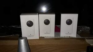 Wyze wifi video camera 3 of them $30 each for Sale in Pasadena, TX