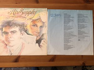 Air Supply Greatest Hits Vinyl Record for Sale in Santa Monica, CA