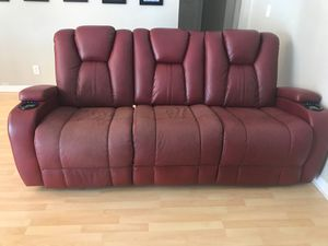 Reclining Sofas Transformer Red for Sale in Pembroke Pines, FL