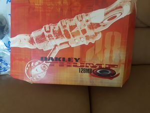 Oakey Sunglasses 128 MB (Rootbeer shades) for Sale in PT CHARLOTTE, FL