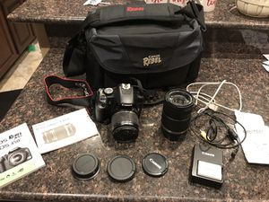Canon EOS rebel XSI with additional lense for Sale in Las Vegas, NV