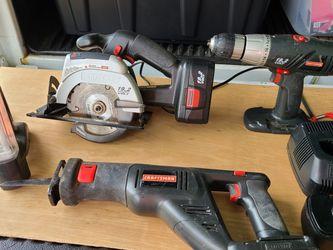 Craftsman 19.2 Volt Tool Set for Sale in St. Petersburg,  FL