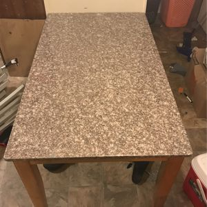 Small Marble Table, Heavy But Very Sturdy for Sale in Traverse City, MI