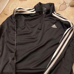Adidas Long sleeve Half Way Zip Up for Sale in Burke,  VA