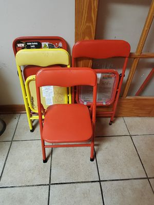 Kids foldable chairs for Sale in Prairie View, IL