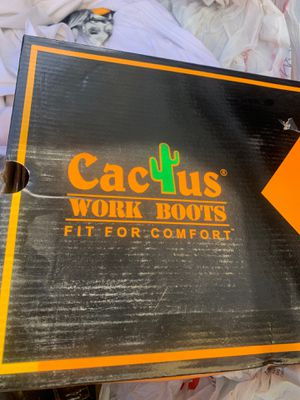 Cactus work boots for Sale in Los Angeles, CA