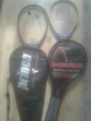 Head brand tennis rackets. for Sale in Washington, DC