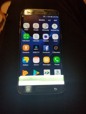 Samsung Galaxy S7 Edge At&t for Sale in Rockville, MD
