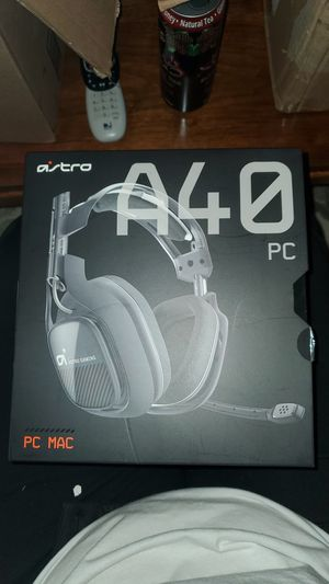 Brand New, Astro A40 gaming headphones for pc/mac for Sale in Seattle, WA