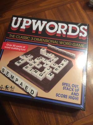 Upwards board game new in plastic for Sale in St. Augustine, FL