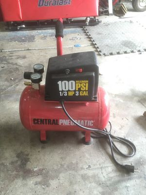 Mini compressor great for anything light and portable for Sale in Portland, OR