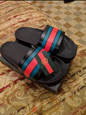 🆕 BRAND NEW DESIGNER GUCCI SLIDES ➡️ SIZE-44(9.5-10) for Sale in Folsom, CA