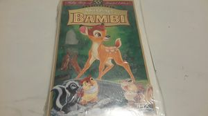 Bambi vhs tape for Sale in Orlando, FL